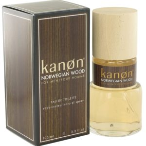 Kanon Norwegian Wood by Kanon Eau De Toilette Spray 100ml for Men