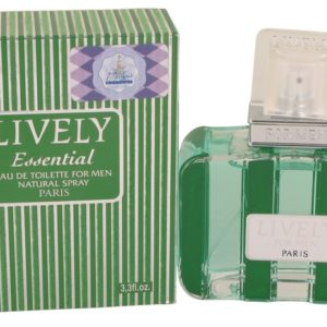 Lively Essential by Parfums Lively Eau De Toilette Spray 100ml for Men