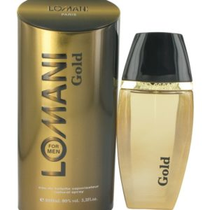Lomani Gold by Lomani Eau De Toilette Spray 100ml for Men
