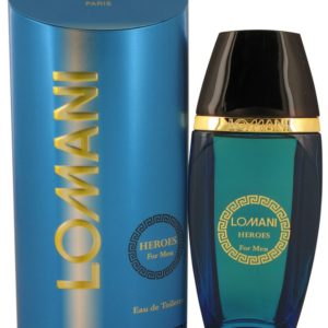 Lomani Heroes by Lomani Eau De Toilette Spray 100ml for Men