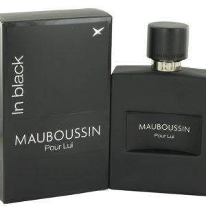 Mauboussin Pour Lui In Black by Mauboussin Eau De Parfum Spray 100ml for Men