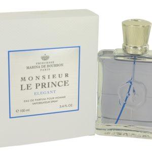 Monsieur Le Prince Elegant by Marina De Bourbon Eau De Parfum Spray 100ml for Men