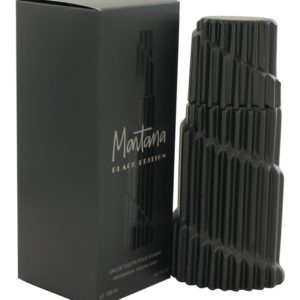 Montana Black Edition by Montana Eau De Toilette Spray 125ml for Men