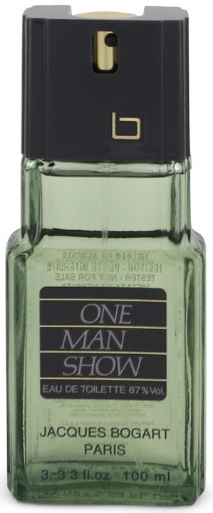 ONE MAN SHOW by Jacques Bogart Eau De Toilette Spray (Tester) 100ml for Men