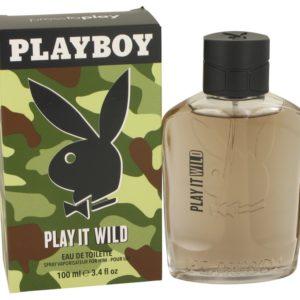 Playboy Play It Wild by Playboy Eau De Toilette Spray 100ml for Men