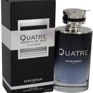 Quatre Absolu De Nuit by Boucheron Eau De Parfum Spray 100ml for Men