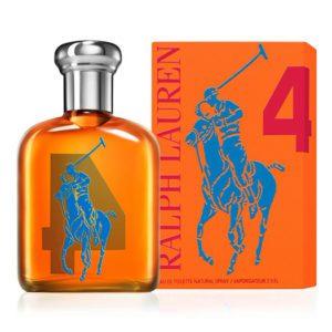 Ralph Lauren Polo Big Pony Orange #4 (125 ML / 4.2 FL OZ)
