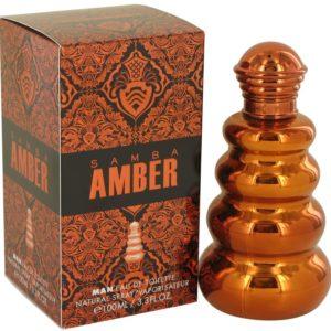 Samba Amber by Perfumers Workshop Eau De Toilette Spray 100ml for Men