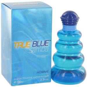 Samba True Blue by Perfumers Workshop Eau De Toilette Spray 100ml for Men