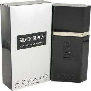Silver Black by Azzaro Eau De Toilette Spray 100ml for Men