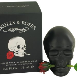 Skulls & Roses by Christian Audigier Eau De Toilette Spray 75ml for Men