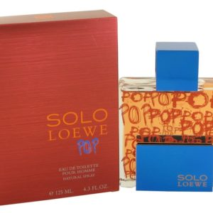 Solo Loewe Pop by Loewe Eau De Toilette Spray 127ml for Men