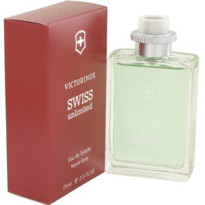 Swiss Unlimited by Victorinox Eau De Toilette Spray 75ml for Men