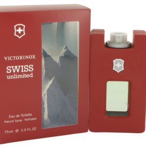 Swiss Unlimited by Victorinox Eau De Toilette Spray Refillable 75ml for Men