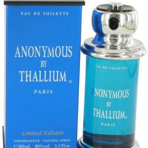 Thallium Anonymous by Yves De Sistelle Eau De Toilette Spray 100ml for Men