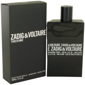 This is Him by Zadig & Voltaire Eau De Toilette Spray 100ml for Men