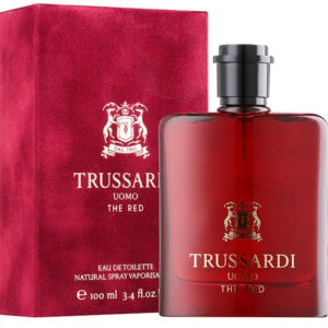 Trussardi Uomo The Red for men (100 ML / 3.4 FL OZ)