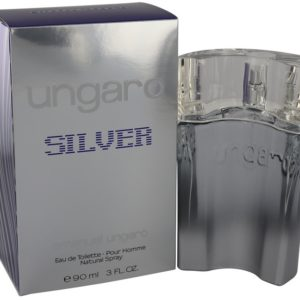 Ungaro Silver by Emanuel Ungaro Eau De Toilette Spray 90ml for Men