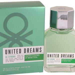 United Dreams Be Strong by Benetton Eau De Toilette Spray 100ml for Men