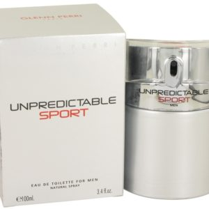 Unpredictable Sport by Glenn Perri Eau De Toilette Spray 100ml for Men