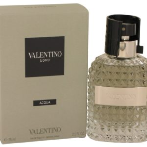 Valentino Uomo Acqua by Valentino Eau De Toilette Spray 75ml for Men