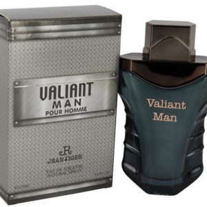 Valiant Man by Jean Rish Eau De Toilette Spray 100ml for Men