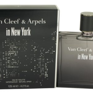 Van Cleef in New York by Van Cleef & Arpels Eau De Toilette Spray 120ml for Men