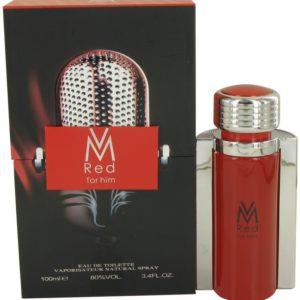 Victor Manuelle Red by Victor Manuelle Eau De Toilette Spray 100ml for Men