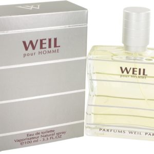 Weil Pour Homme by Weil Eau De Toilette Spray 100ml for Men