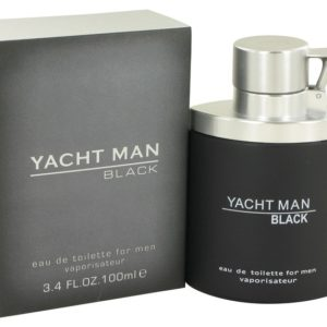Yacht Man Black by Myrurgia Eau De Toilette Spray 100ml for Men