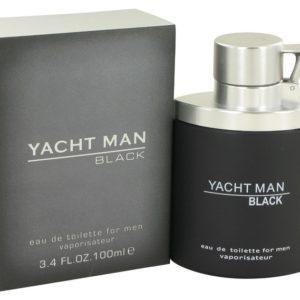 Yacht Man Black by Myrurgia Eau De Toilette Spray 100ml for Men