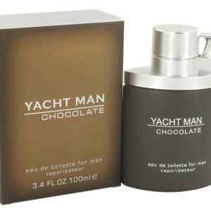Yacht Man Chocolate by Myrurgia Eau De Toilette Spray 100ml for Men