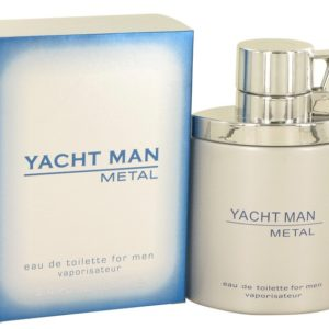 Yacht Man Metal by Myrurgia Eau De Toilette Spray 100ml for Men