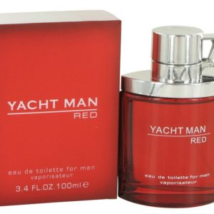 Yacht Man Red by Myrurgia Eau De Toilette Spray 100ml for Men
