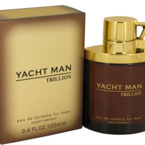 Yacht Man Trillion by Myrurgia Eau De Toilette Spray 100ml for Men
