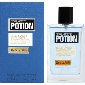 Dsquared2 Potion Blue Cadet for men (100 ml / 3.4 FL OZ)