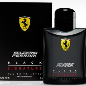 Ferrari Scuderia Black Signature (125 ML / 4.2 FL OZ)