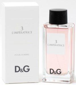 DOLCE & GABBANA D&G 3 L'IMPRATRICE 香水