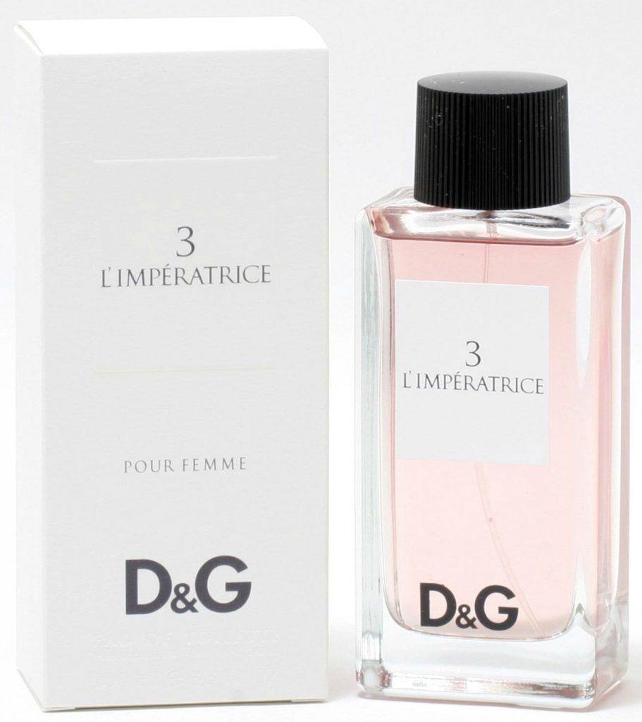 D&G 3 perfume Hong Kong