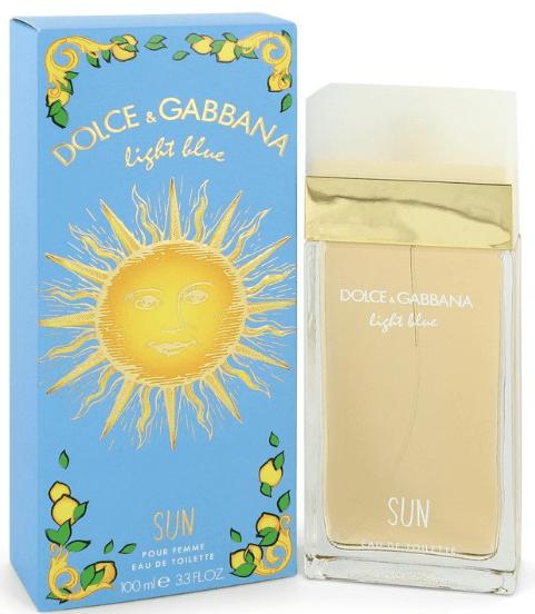 D&G Light Blue Sun pour femme perfume