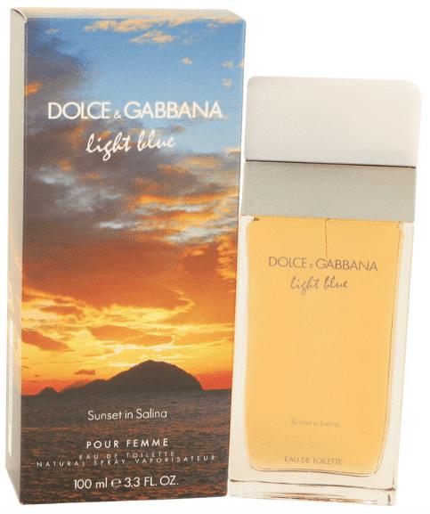 D&G Light Blue Sunset In Salina perfume