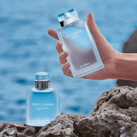 D&G Light Blue perfume series review