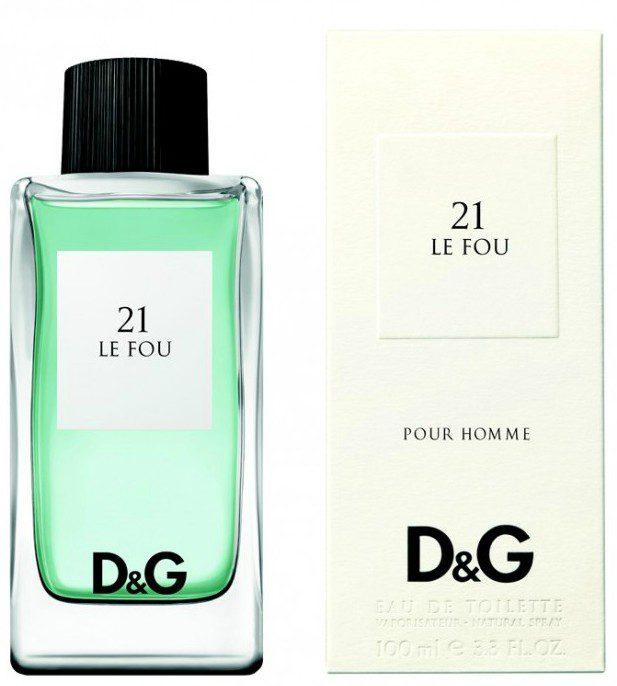 D&G Le Fou 21 perfume Hong Kong