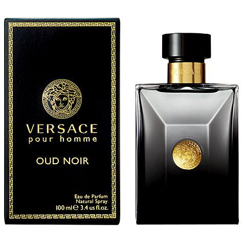 versace pour homme Oud noir perfume