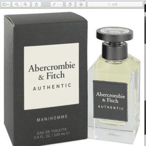 Abercrombie & Fitch Authentic for men (100 ML / 3.4 FL OZ)